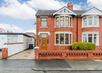 Thumbnail 4 bed semi-detached house for sale in Fifth Avenue, Blackpool, Blackpool