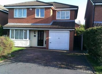 Thumbnail 4 bed detached house to rent in Apple Dell Avenue, Golborne, Warrington
