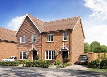 Thumbnail 2 bed semi-detached house for sale in Cranford Road, Allington, Maidstone, Kent