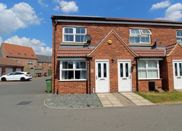 Thumbnail 2 bed end terrace house for sale in Whimbrel Chase, Scunthorpe
