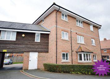 Thumbnail 2 bed flat for sale in Wharf Way, Hunton Bridge, Kings Langley, Hertfordshire
