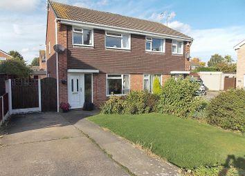 Thumbnail 3 bed semi-detached house for sale in Avondale Close, Long Eaton, Nottingham