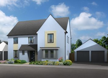 "Thumbnail 5 bed detached house for sale in ""Manning"" at Church Close, Ogmore-By-Sea, Bridgend"