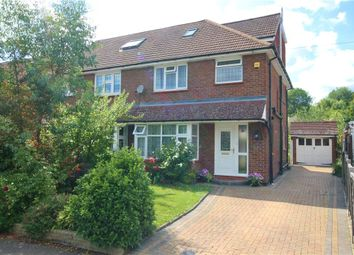 Thumbnail 4 bed semi-detached house for sale in Spring Avenue, Egham, Surrey