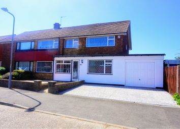 Thumbnail 5 bed semi-detached house for sale in Imperial Drive, Gravesend