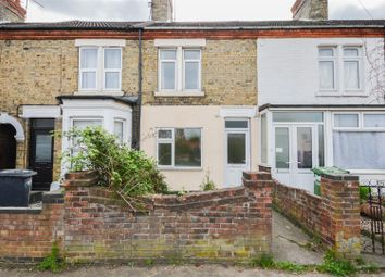 Thumbnail 3 bedroom terraced house for sale in Oundle Road, Woodston, Peterborough