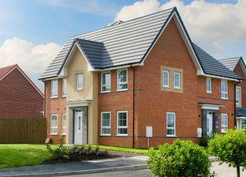 "Thumbnail 3 bedroom semi-detached house for sale in ""Morpeth"" at Fen Street, Brooklands, Milton Keynes"