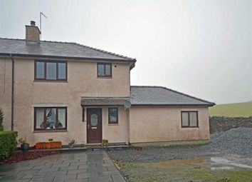 Thumbnail 3 bed semi-detached house for sale in Sandside, Kirkby In Furness, Cumbria