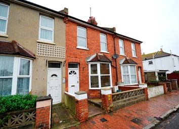 Thumbnail 2 bed terraced house for sale in Fairlight Road, Eastbourne