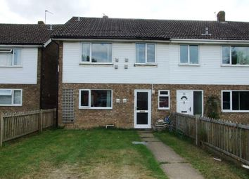Thumbnail 4 bed semi-detached house for sale in Beck Row, Bury St. Edmunds, Suffolk