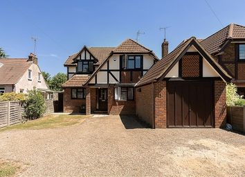 Thumbnail 4 bed detached house to rent in Station Road, Smallford, St.Albans