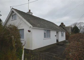 Thumbnail 2 bed detached bungalow for sale in Lower Mill Cottage, Mill Street, Llwyngwril, Gwynedd