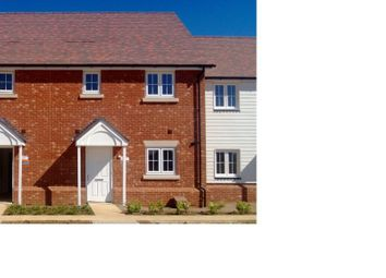 Thumbnail 3 bed terraced house to rent in Waterloo Walk, Kings Hill, West Malling