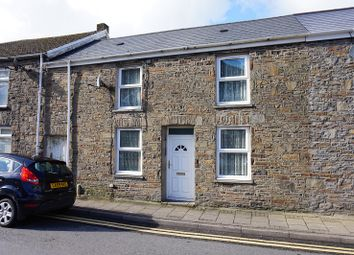 Thumbnail 3 bed terraced house for sale in High Street, Ogmore Vale, Bridgend, Bridgend County.