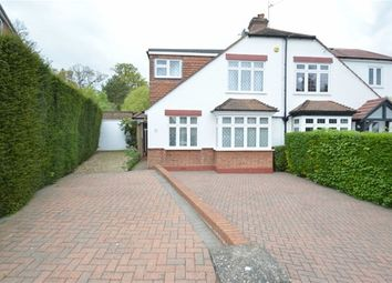 Thumbnail 3 bed semi-detached house for sale in Ridgemount Avenue, Chipstead, Coulsdon