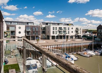 Thumbnail 3 bedroom flat for sale in Waterside Marina, Brightlingsea, Colchester