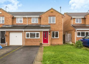 Thumbnail 3 bed semi-detached house for sale in Hallgarth, Consett