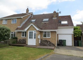 Thumbnail 3 bed semi-detached house for sale in Agincourt Close, St Leonards-On-Sea, East Sussex