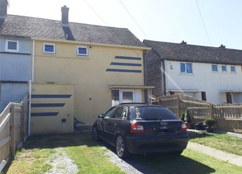 Thumbnail 2 bed semi-detached house for sale in Traffwll Road, Caergeiliog, Holyhead, Anglesey