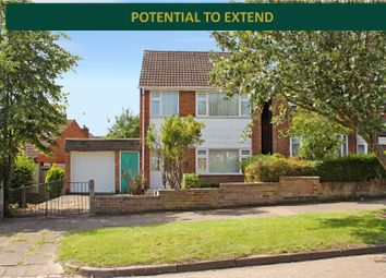 Thumbnail 3 bed detached house for sale in Welland Vale Road, Evington, Leicester