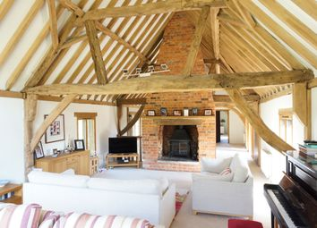 Thumbnail 4 bed barn conversion for sale in Houghton, Stockbridge, Hampshire