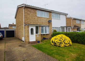 Thumbnail 2 bedroom semi-detached house for sale in Hogarth Drive, Shoeburyness
