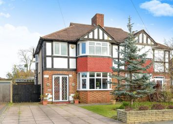 Thumbnail 3 bed semi-detached house for sale in Kneller Road, Old Malden, Worcester Park