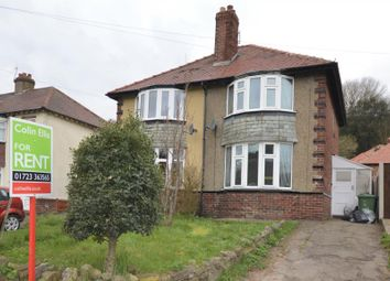 Thumbnail 2 bedroom semi-detached house to rent in Seamer Road, Scarborough, North Yorkshire