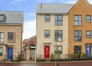 Thumbnail 4 bed terraced house for sale in Fen Street, Brooklands, Milton Keynes