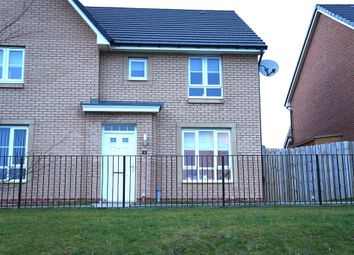 Thumbnail 3 bed semi-detached house for sale in 3, Cot Castle View East, Stonehouse, Larkhall, South Lanarkshire