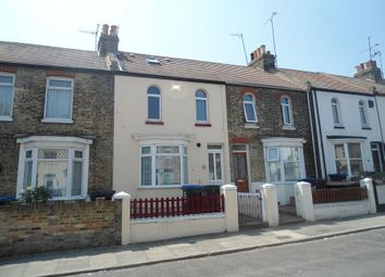Thumbnail 3 bedroom terraced house to rent in Buckingham Road, Margate