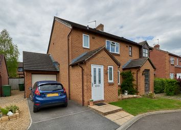 Thumbnail 3 bed semi-detached house for sale in Taunton Close, Chippenham