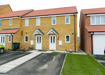 Thumbnail 2 bed end terrace house for sale in Furnace Close, North Hykeham, Lincoln