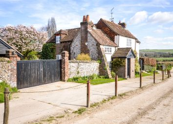 Thumbnail 4 bed cottage for sale in Offham, South Stoke, Arundel, West Sussex