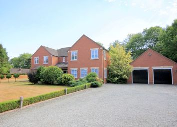 Thumbnail 5 bed detached house for sale in Stallington Road, Blythe Bridge, Stoke-On-Trent