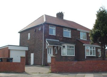 Thumbnail 3 bed semi-detached house to rent in Kings Road, Wallsend
