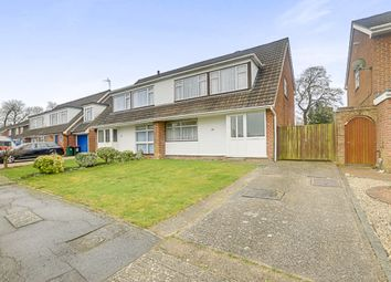 Thumbnail 4 bed semi-detached house for sale in Parkfield Close, Gossops Green, Crawley