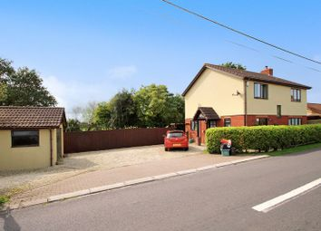 Thumbnail 4 bed detached house for sale in Burtle, Bridgwater