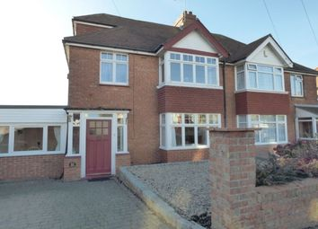 Thumbnail 4 bed semi-detached house for sale in Downs Road, Folkestone