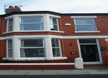 Thumbnail 3 bed terraced house to rent in Queensdale Road, Mossley Hill, Liverpool