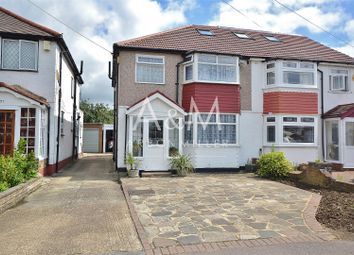 Thumbnail 3 bed semi-detached house for sale in Naseby Road, Clayhall, Ilford