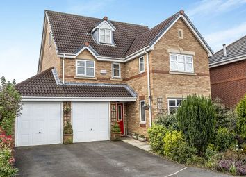 Thumbnail 5 bed detached house for sale in Little Close, Farington Moss, Leyland