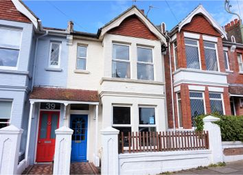 Thumbnail 3 bed terraced house for sale in St. Lukes Terrace, Brighton