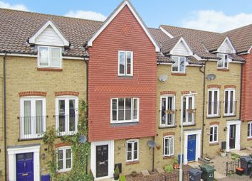 Thumbnail 3 bed terraced house for sale in Alderney Way, Kennington, Ashford, Kent