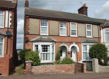 Thumbnail 3 bed end terrace house for sale in Nelson Road, Dovercourt