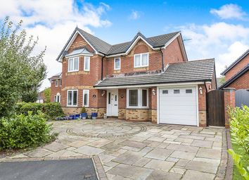 Thumbnail 4 bed detached house for sale in Cherryfields, Euxton, Chorley