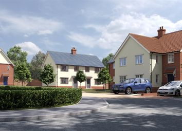 2 bed end terrace house for sale in Luff Meadow, Stowmarket Road, Needham Market, Ipswich IP6