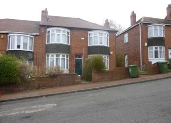 Thumbnail 3 bed flat to rent in Highcliffe Gardens, Gateshead