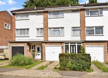 Thumbnail 3 bed town house for sale in Kemp Close, Chatham, Kent