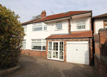 Thumbnail 4 bed semi-detached house for sale in Hunts Cross Avenue, Woolton, Liverpool